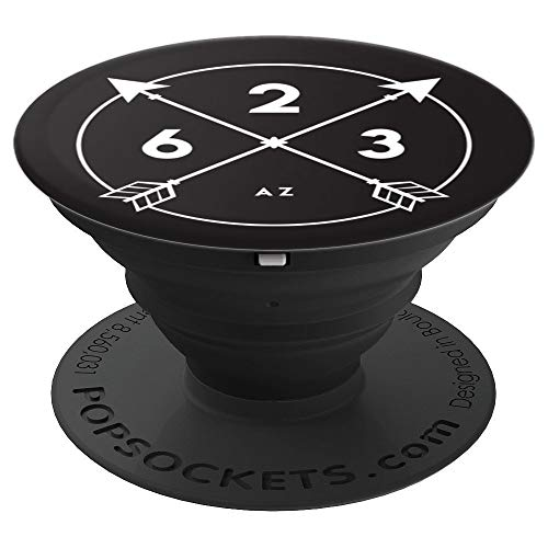 Arizona Area Code 623 State Pride Souvenir Gift Arrow Circle - PopSockets Grip and Stand for Phones and Tablets