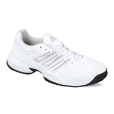343cd1fc Adidas Men's Swerve Str 2 White Tennis Shoes - 7 UK: Buy Online at ...