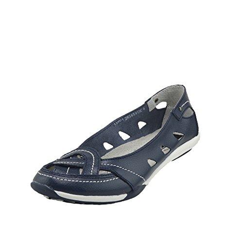 Blu Pelle Comode Basse Womens Donna Footwear Scarpe Kick Espadrillas wHCZpqBg