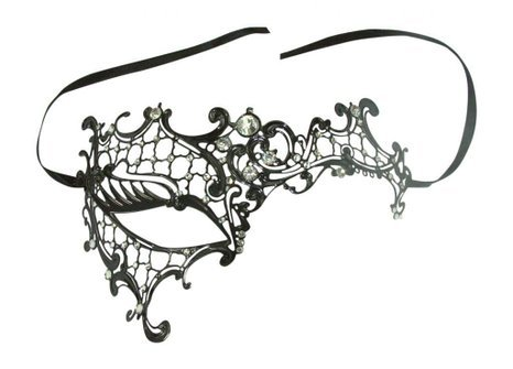 Phantom of the Opera Inspired Lady Venetian Halloween Masquerade Party Mask