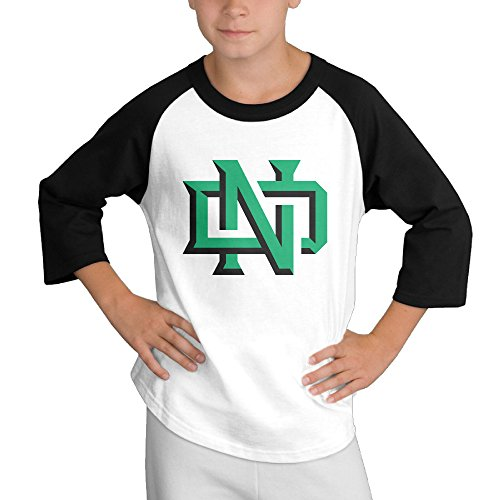 Price comparison product image MULTY9 University Of North Dakota Child Youth 3/4 Baseball Tee X-Large