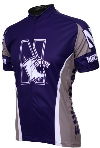 Amazon.com   NCAA Northwestern Wildcats Cycling Jersey   Northwestern  Bicycle Shirt   Sports   Outdoors 7f33e7a05