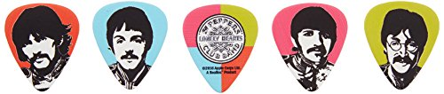 Guitar Picks, Meet the Beatles, 10 Pack, Heavy Gauge ()