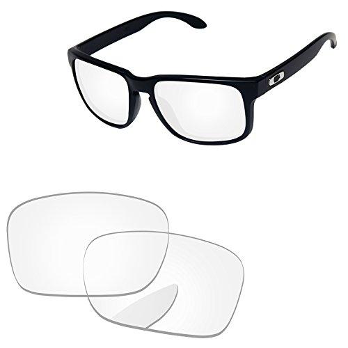 PapaViva Replacement Lenses for Oakley Holbrook Crystal - Lenses Clear Holbrook