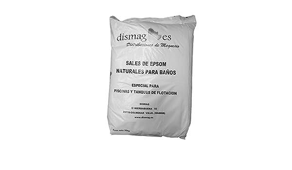 Sal de Epsom 25 Kg, Fuente concentrada de Magnesio, Sales 100% Naturales. Baño y Cuidado Personal. (25kg): Amazon.es: Belleza