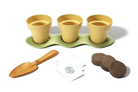 Green Toys Indoor Garden Kit Great Gift for Kids to Start Gardening Growing