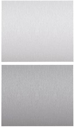Ikea Fastbo Wall Panel Double Sided Stainless Steel Colour Aluminium Colour 60x50 Cm Amazon Co Uk Kitchen Home