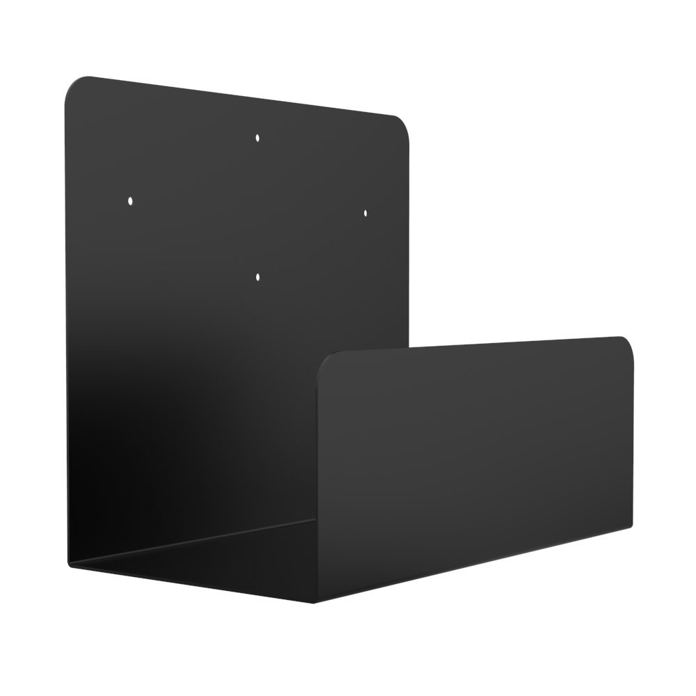 Oeveo Side Mount 174-11H x 7.2W x 13D   Computer Wall Mount for Full-Sized Computer Towers from HP, Lenovo, Dell, Acer, and More   SCM-174