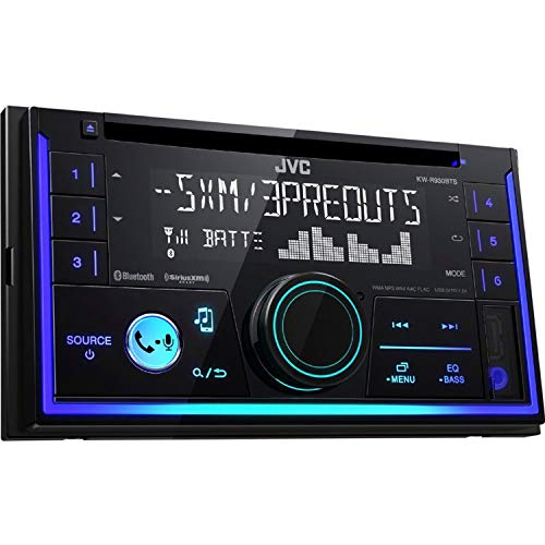 amazon com: jvc kw-r920bts built-in bluetooth/satellite radio-ready in-dash  receiver with remote: cell phones & accessories