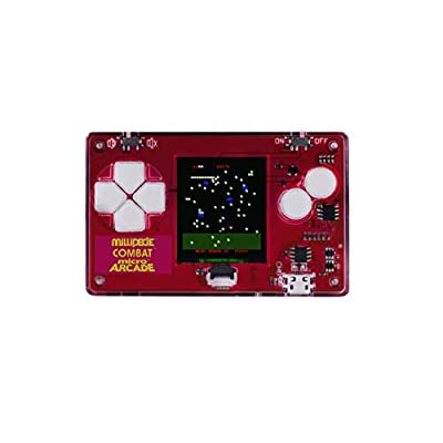 Micro Arcade Atari Series 3 - Millipede, Combat, and Surprise Bonus Game: Toys & Games
