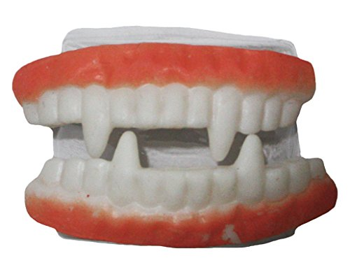 Petitebella Halloween Toy Fake Vampire Teeth Fang Accessory for Children Adult