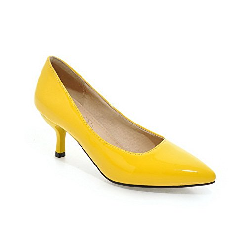Yellow Donna Con Zeppa Balamasa Sandali Z1I4xv6w