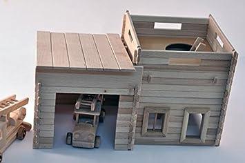 Kleines Feuerwehrhaus Mit Aussichtspunkt Zum Selbstbau Selber Bauen