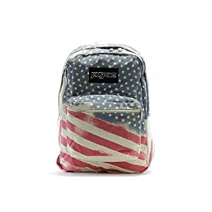 Jansport Farm Super FX backpack, Multi Patch Work
