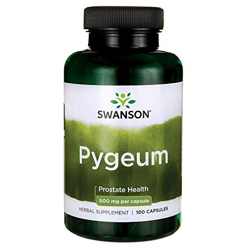 Swanson Pygeum 500 Milligrams 100 Capsules