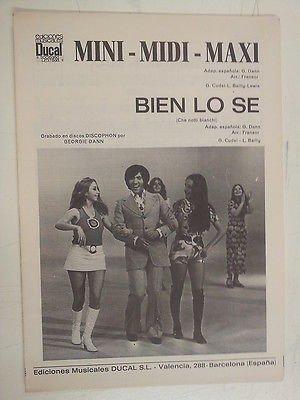 - combo band parts MINI MIDI MAXI / BIEN LO SE