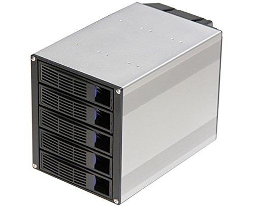 Server Case Module, 5 Hot-Swappable SATA/SAS Drive Bays