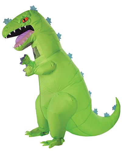 [Rubie's Costume Co Men's Reptar, As Shown, One Size] (Cartoon Character Simple Costume)