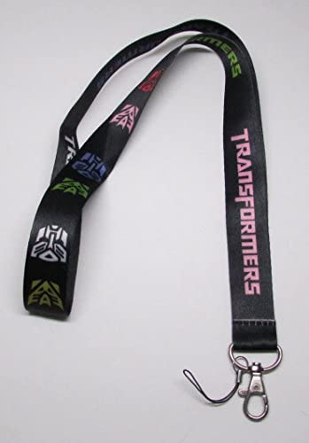 Black TRANSFORMER LANYARD Keychain Holder product image