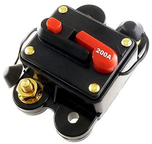 200 AMP 12V DC CIRCUIT BREAKER REPLACE FUSE 200A 12VDC Scosche