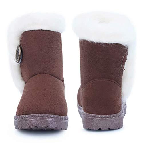 9a8f98b1b92 Jual CIOR Toddler Snow Boots Girls Boys Winter Warm Kids Outdoor ...