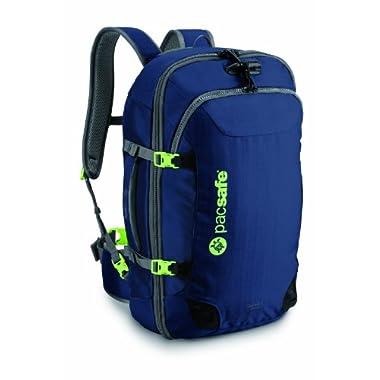 Pacsafe Venturesafe 45L GII Anti-Theft Carry-On Travel Pack, Navy Blue