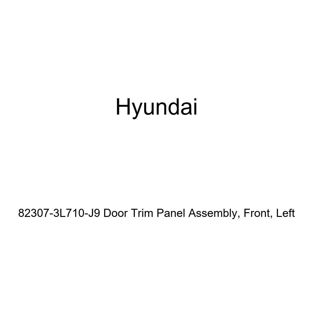 Genuine Hyundai 82307-3L710-J9 Door Trim Panel Assembly Front Left