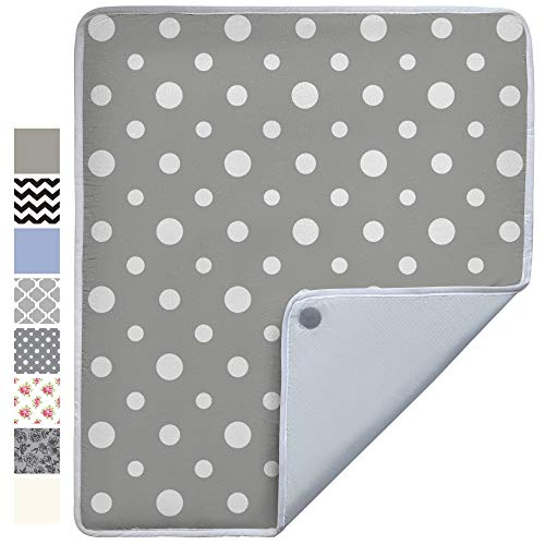 Gorilla Grip Premium Ironing Pad, Magnetic Laundry Pad, 28 x 24 Inch, Heat and Scorch Resistant, Iron Board Mat for Table Top, Washer, Dryer, Durable Pads Great for Travel, Dots
