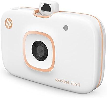 HP Sprocket 2 en 1, Impresora y Cámara instantánea