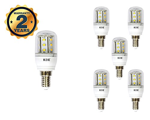 KDE - Bombilla LED Mazorca 4W - Casquillo E14 - Luz fría - 6500K - 320 lúmenes - 6UD - Eficiencia energética A+: Amazon.es: Iluminación