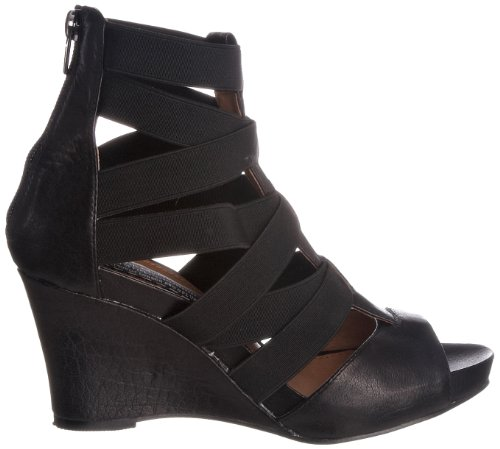 Bertie Sangay Side Zip, Damen Pumps Schwarz - Noir-TR-BH182
