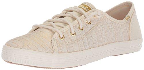 Keds Girls' Kickstart Seasonal Sneaker, White, 2