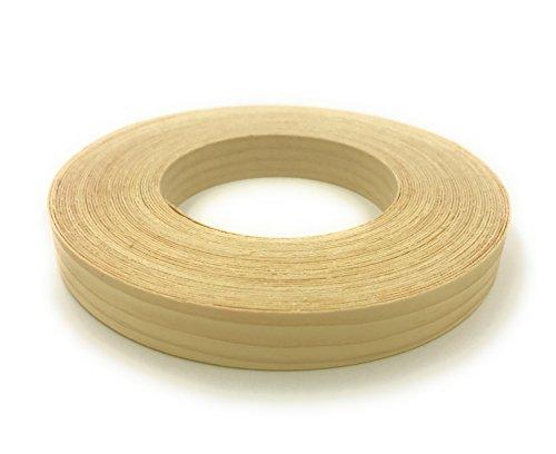 "White Pine 3/4"" X 50' Roll Preglued, Wood Veneer Edge bandin"