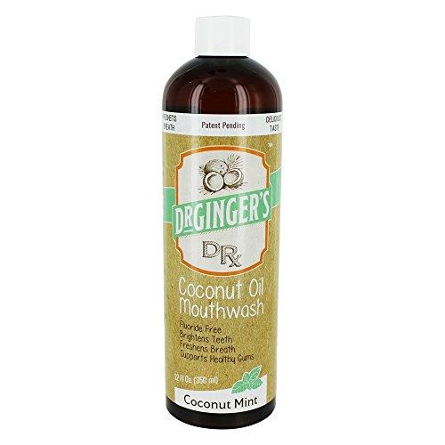 Ginger Coconut Mouthwash Mint 350