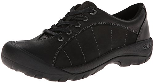 KEEN Women's Presidio Oxford,Black/Magnet,9 M US