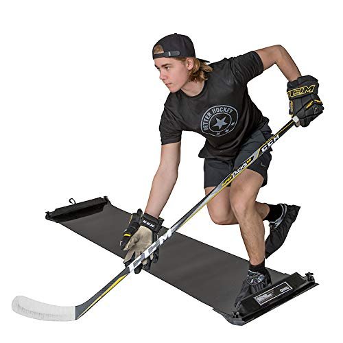 (Better Hockey Extreme Slide Board - Comes with 3 Pairs of Booties in Size S-M-L)