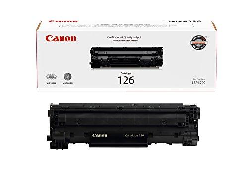 Canon Original 126 Toner Cartridge - Black