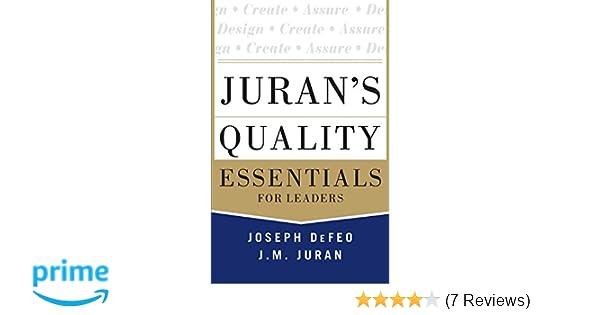 joseph juran quality