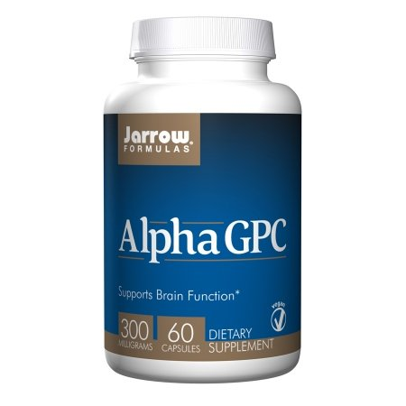 Jarrow Alpha GPC 300 mg, 60 Veggie Cap (12-Pack Bottles) by Jarrow