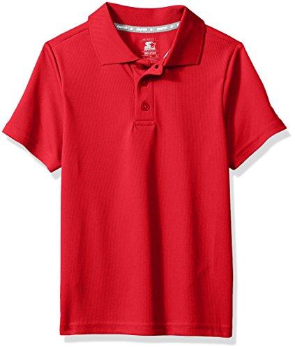 Starter Boys Short Sleeve Tech Golf Polo Shirt, Amazon Exclusive