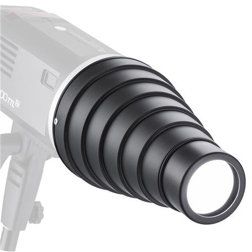 Flashpoint Snoot Kit for Bowens Mount Strobes