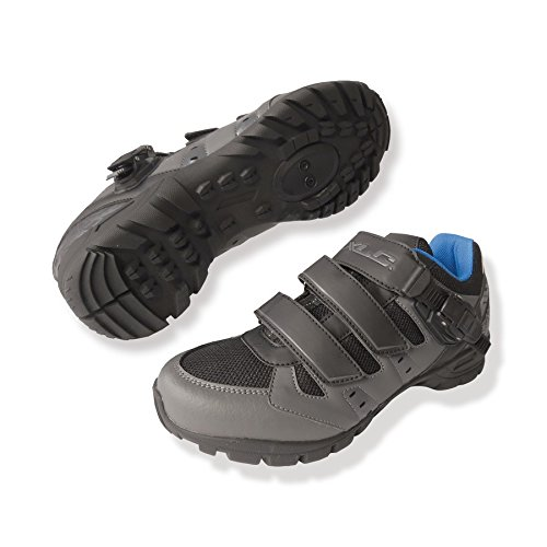 XLC scarpe all mtb cb-m09 antracite / nero 38 (Scarpe Mtb) / shoes all mtb cb-m09 anthracite / black 38 (Mtb Shoes)