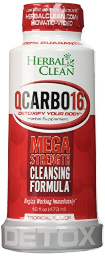 Herbal Clean QCarbo16 Tropical Cleansing product image