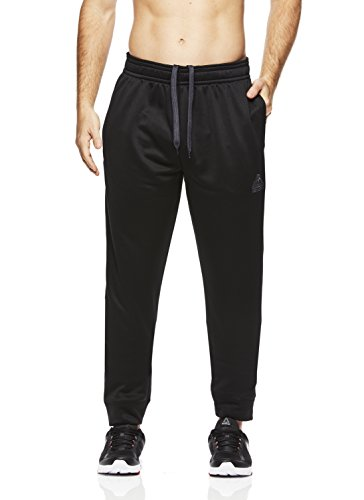 Above the rim Superhero Men's Fleece Jogger Pants- Track Pants for Men - Black Night, - Pant Peace Fleece