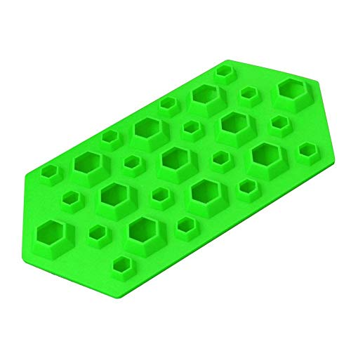 Price comparison product image Silicone 27 Cavity 3d Diamond Gem Party Bar Ice Cube Chocolate Mold Mould Tray - Ice Cream Makers