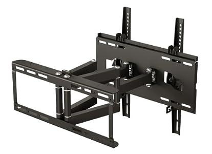 ricoo tv wandhalterung r48 fernsehhalterung halter halterung schwenkbar doppelarm plasma lcd. Black Bedroom Furniture Sets. Home Design Ideas