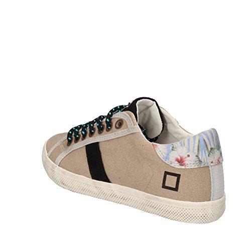 D.A.T.E. (DATE) Sneakers Bambina 32 EU Beige Tessuto