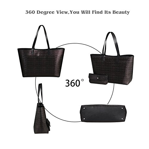 Shopping Women Black2 Genuine Bag Bags Handbags Fashion Cowhide Large Caphill Designer 2 Bags Leather for Clutches Tote Lady Bag Purse Pieces Shoulder YYq1ZF