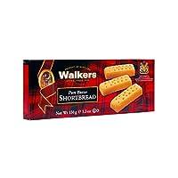 Dedos de mantequilla dulce para caminantes, 5.3 oz. Cajas (Número de 6), galletas de mantequilla dulce tradicionales y simples de mantequilla pura de las Tierras Altas de Escocia, elaboradas con ingredientes de calidad, libres de sabores artificiales