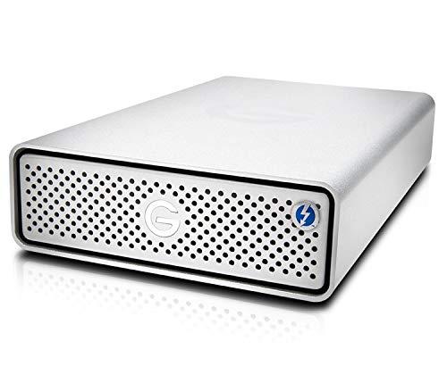 G-Technology 4TB G-Drive with Thunderbolt 3 and USB-C Desktop External Hard Drive, Silver - 0G05363